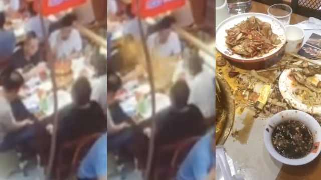 食客点一锅蛙,上桌3分钟后炸了