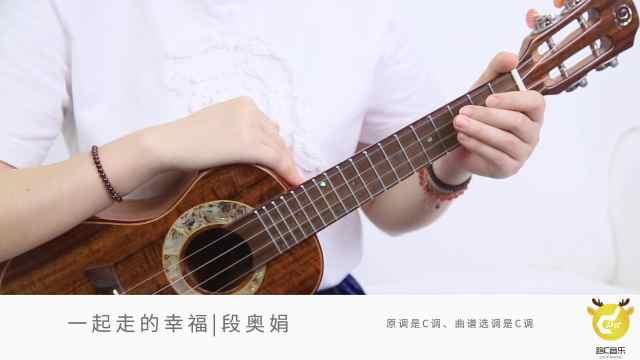 《一起走的幸福》段奥娟,弹唱教学