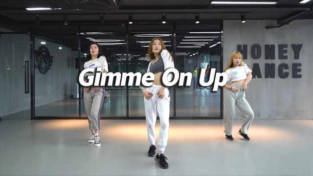 Jessie翻跳爵士舞《Gimme On Up》