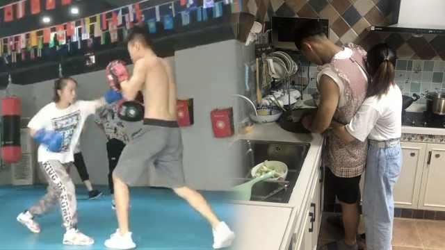 大3萌妹成拳击冠军:吓跑不少追求者
