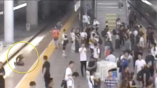 称朋友爸去世,无票男横穿铁轨赶车
