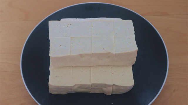 豆腐换一种新吃法,味道特别棒