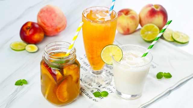 桃子的多种吃法,这个夏天甜甜的!