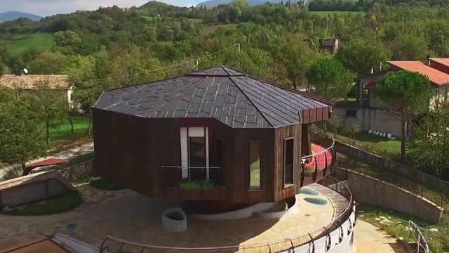 意大利可360度随便转的房子!