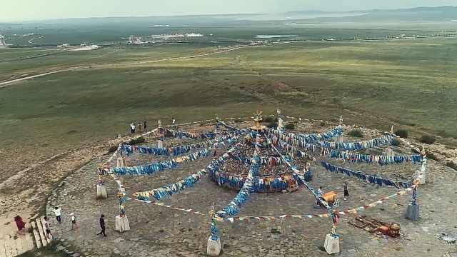 神圣隆重!乌兰察布的祭敖包