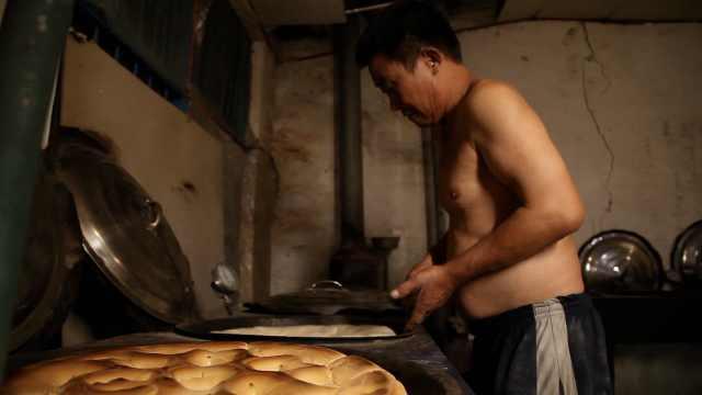 山东锅饼一个有12斤!送礼倍有面子