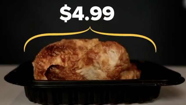 为什么Costco王牌烤鸡好吃又便宜?