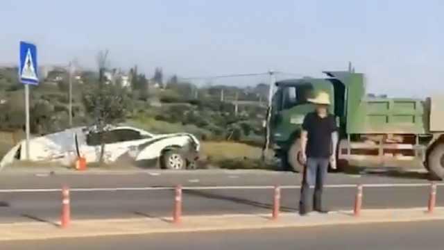 调查事故遭遇车祸,2民警1辅警牺牲