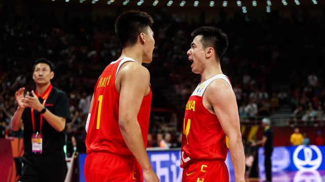 拼到腿抽筋!中国男篮世界杯开门红