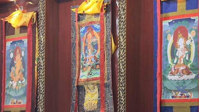 探秘玉树佛教艺术藏娘唐卡文化