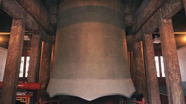 永乐大钟93000斤,响了600年