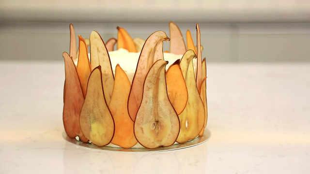 秋梨蛋糕:月近圆,锁清秋