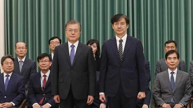 文在寅强行任命法务部长:我要改革