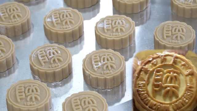 高校做校徽月饼送学生,分14种口味