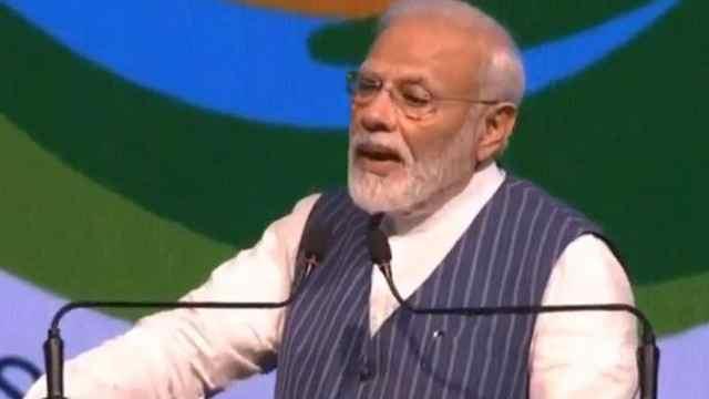 莫迪:印度将向一次性塑料说再见