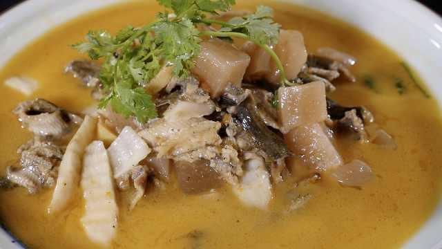 酸萝卜炖泥鳅,好吃又营养