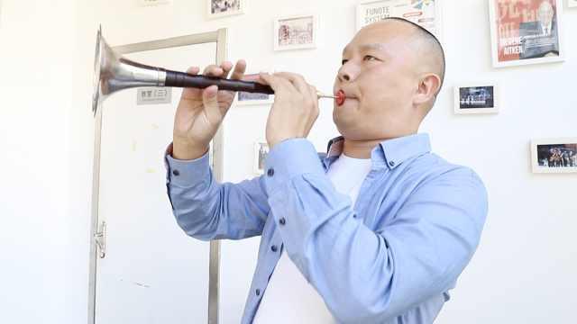 他吹唢呐为谭维维伴奏:终生难忘