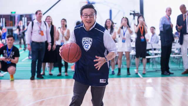 篮网老板蔡崇信五佳球,秀不秀?