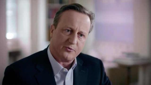 卡梅伦谈脱欧内幕:欧盟人不听我的