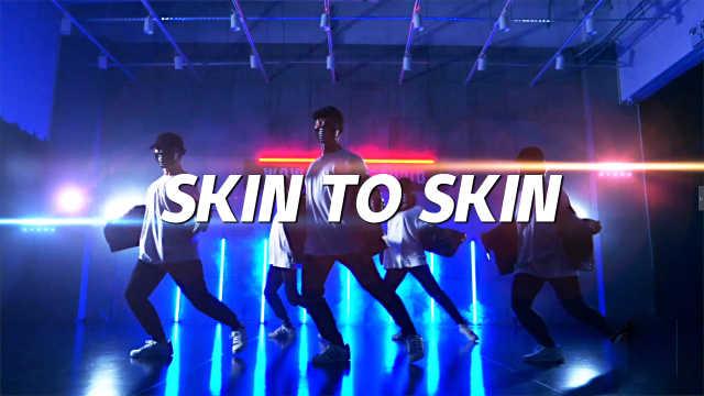 动感翻跳《skin to skin》