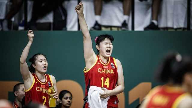 爆冷!中国女篮绝杀澳大利亚进4强