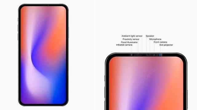 苹果5G手机或无刘海屏,金属边框
