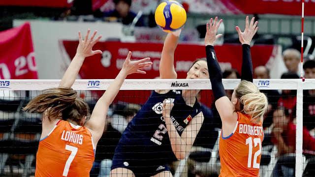 所向披靡!中国女排豪取世界杯9连胜
