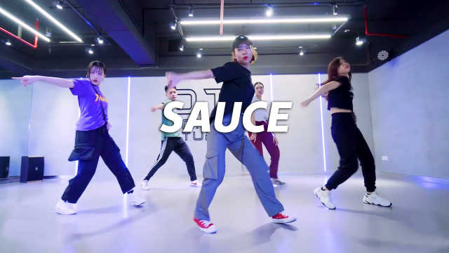 左左编舞《Sauce》,动感节奏
