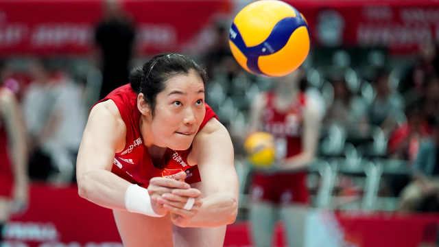 完美收官!中国女排11连胜不败夺冠
