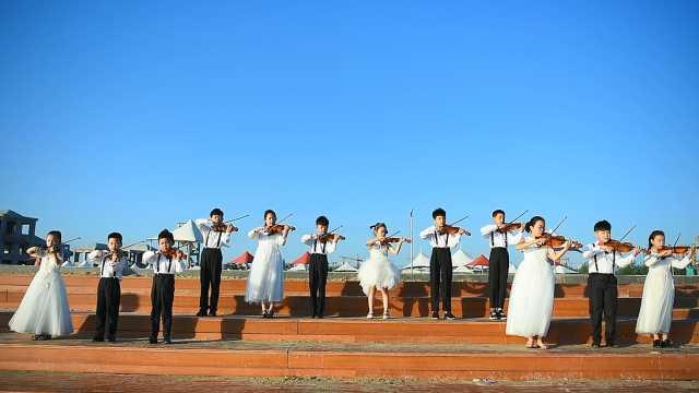 河南汝州激情唱響《我和我的祖國》