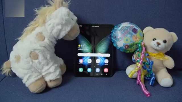 外媒吐槽三星折疊手機:嬰兒般脆弱