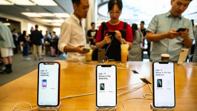 苹果官网iPhone11部分机型缺货