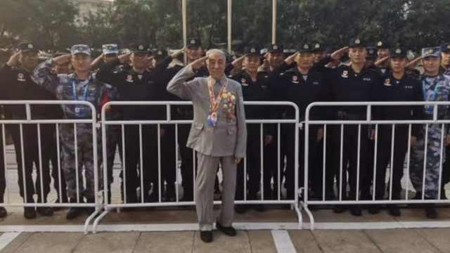 9旬老兵受邀进京参加阅兵:盼了70年