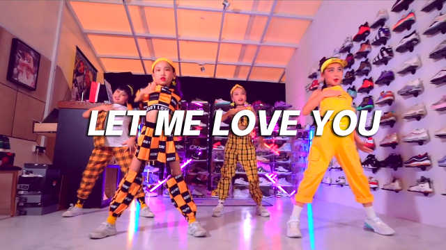 小朋友们翻跳《Let Me Love You》