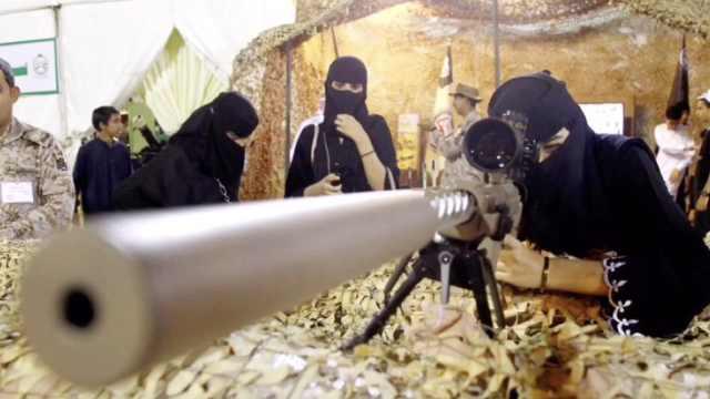 沙特頒布新規:允許女性加入軍隊
