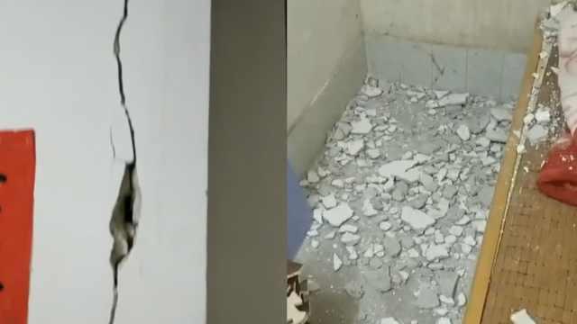 广西北流5.2级地震,多处房屋现裂痕