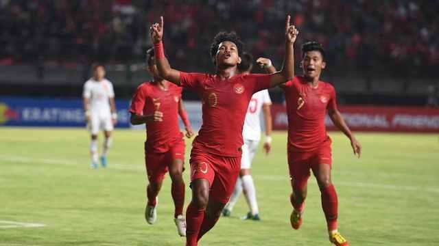 中国U19不敌印尼,全场仅4次射门
