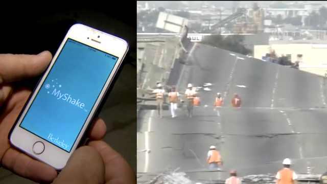 加州推出地震预警App:提前几秒提醒