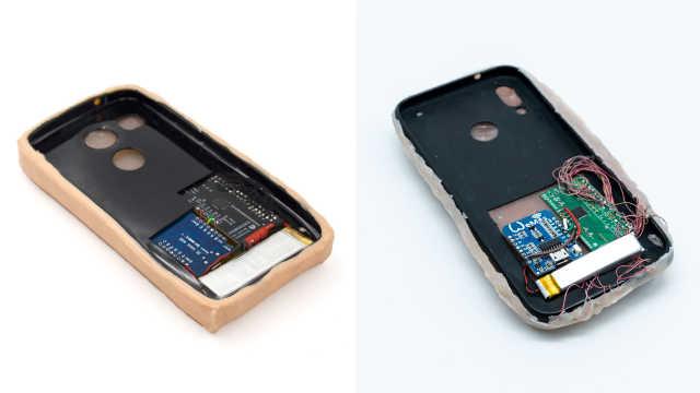 给手机挠痒!人造皮肤手机壳你爱吗