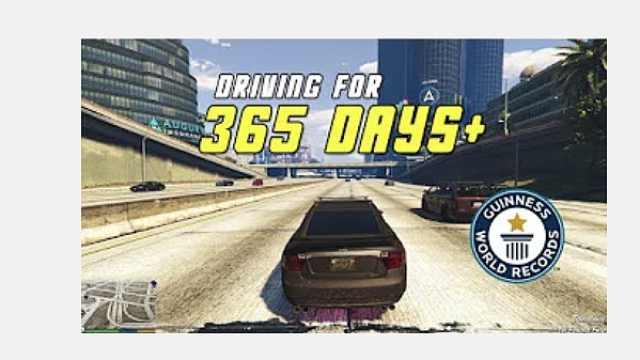 粉丝为《GTA6》预计直播开车一年