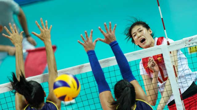 横扫德国!军运会中国女排晋级决赛