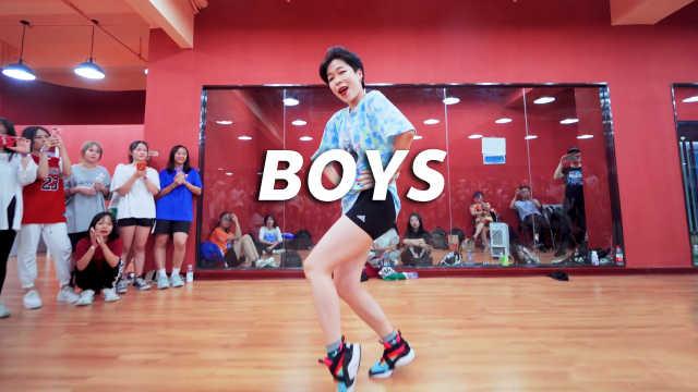 1M舞室Hyojin酷帅编舞《Boys》