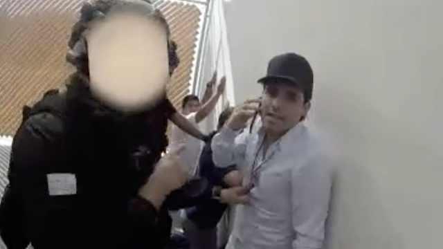 墨西哥政府公布毒梟之子被捕畫面