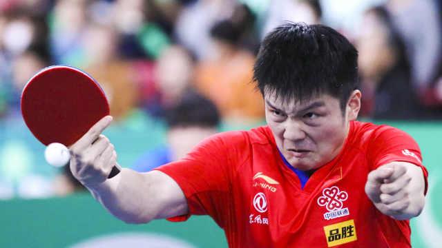 兵不血刃!中國男乒橫掃日本進決賽