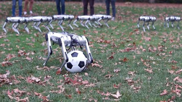 麻省全新機器獵豹:會后空翻踢足球