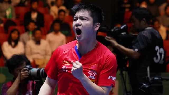 統治!中國男乒逆轉韓國豪取八連冠