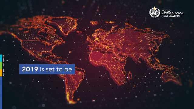 世界气象组织:我们刚经历最热十年