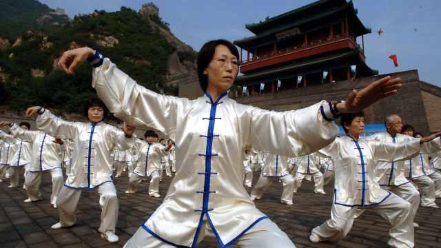 超150万日本人练习太极,7成为女性