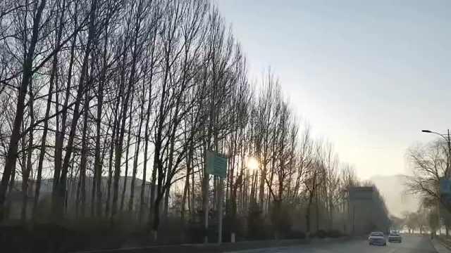 漫步浑江岸畔,感受冬日美好