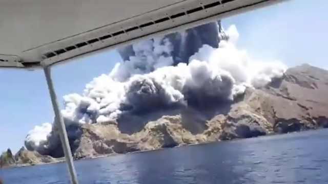 新西兰火山喷发,中国游客失踪受伤